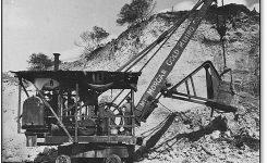 El origen de la excavadora